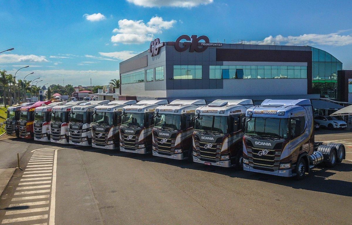 Imagem ilustrativa da notícia: Scania vende 300 caminhões da nova geração para G10