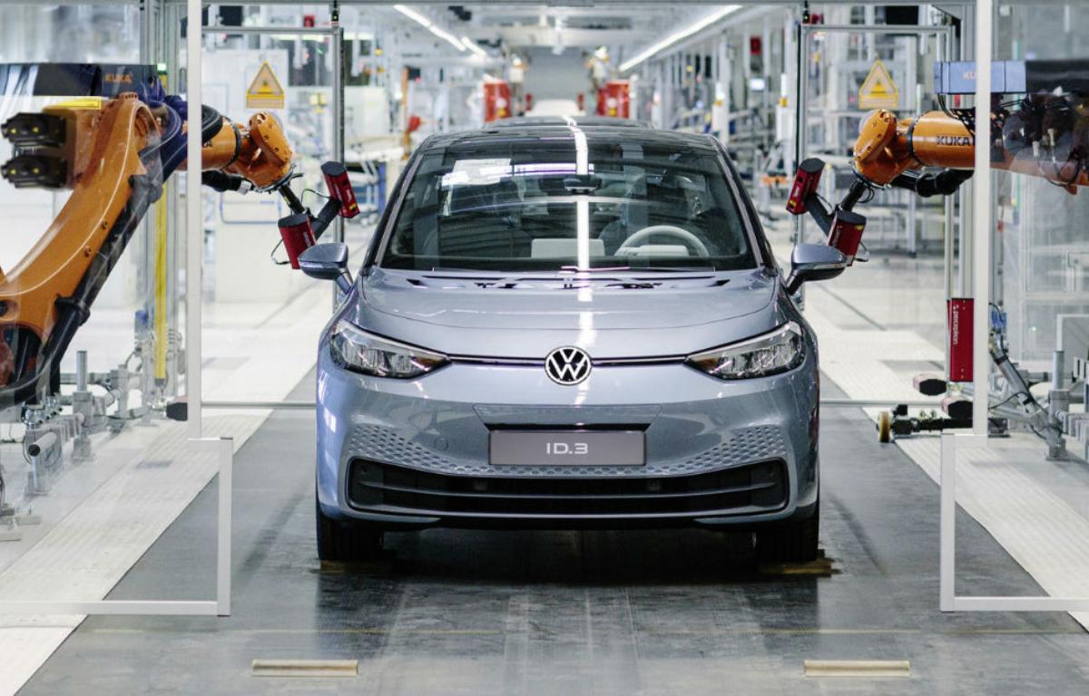 Imagem ilustrativa da notícia: Siemens equipa linha de produção dos elétricos Volkswagen