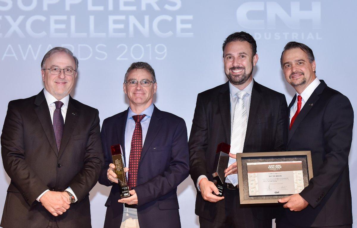 Imagem ilustrativa da notícia: SKF do Brasil é eleito fornecedor do ano da CNH Industrial
