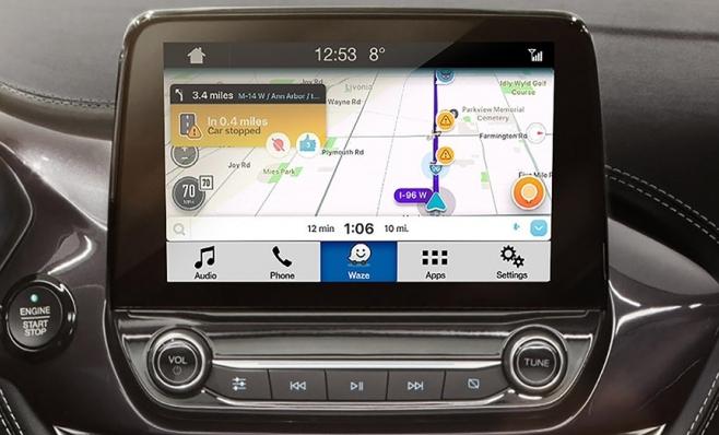 Imagem ilustrativa da notícia: Ford anuncia integração do Waze ao Sync 3