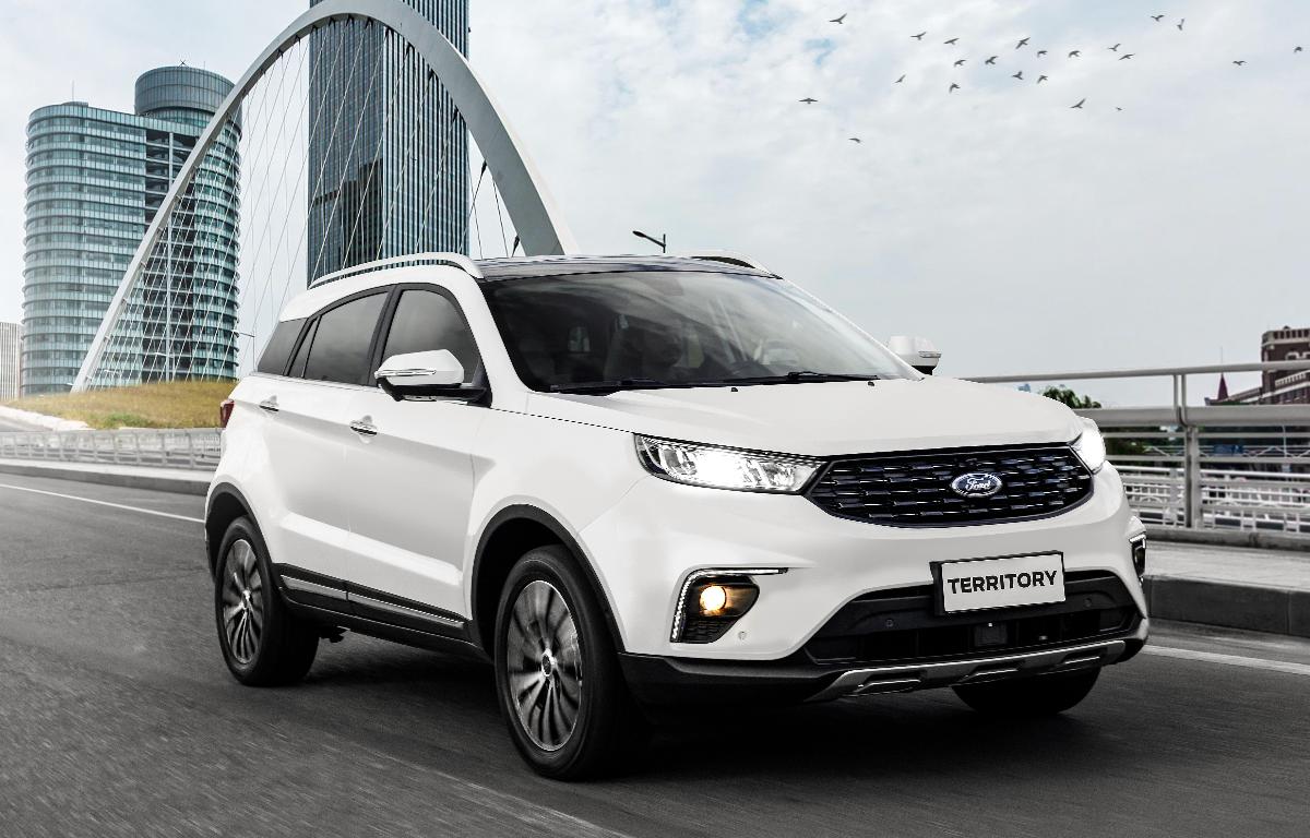 Imagem ilustrativa da notícia: Territory, o primeiro Ford chinês vendido no Brasil