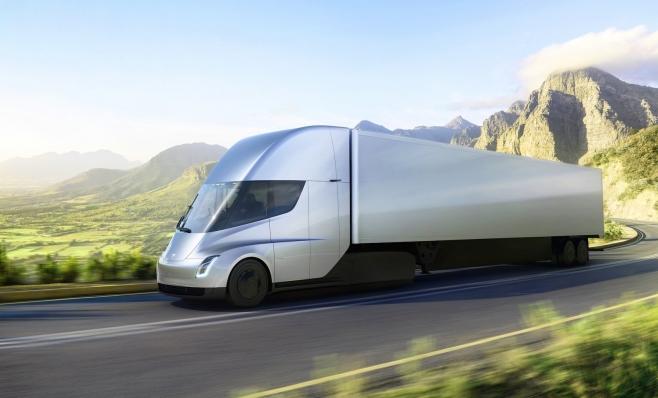 Imagem ilustrativa da notícia: Tesla revela modelo conceito de caminhão elétrico