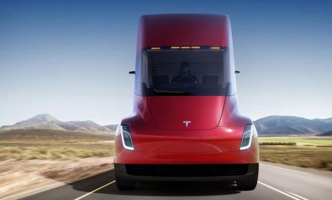 Imagem ilustrativa da notícia: DHL e Fortigo encomendam caminhões Tesla Semi