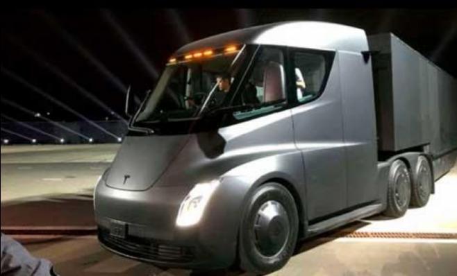 Imagem ilustrativa da notícia: Tesla desenvolve estações de carregamento para Semi