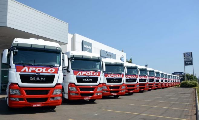 Imagem ilustrativa da notícia: Apolo Transportes amplia frota com extrapesados MAN