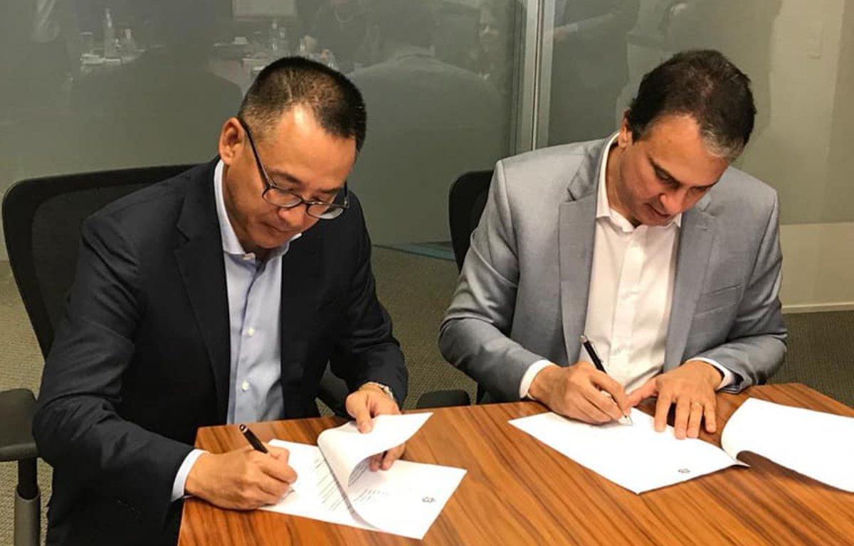 Imagem ilustrativa da notícia: Toyota planeja centro de distribuição no Ceará