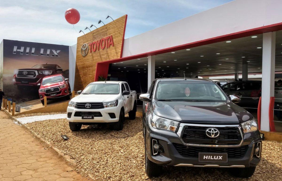 Imagem ilustrativa da notícia: Toyota Hilux teve valorização em 2019