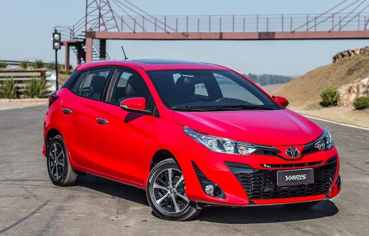 Imagem ilustrativa da notícia: Toyota Yaris foi o automóvel menos desvalorizado no último ano