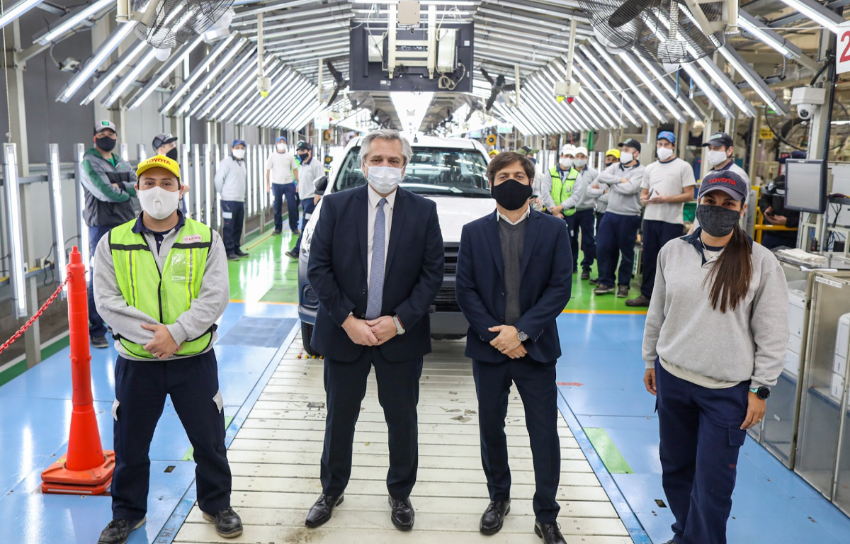Imagem ilustrativa da notícia: Trabalhador da Toyota na Argentina testa positivo para covid-19