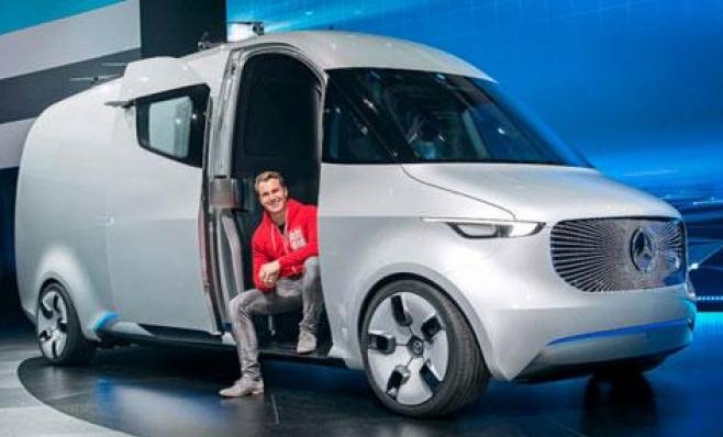 Imagem ilustrativa da notícia: Mercedes-Benz lançará comercial leve elétrico