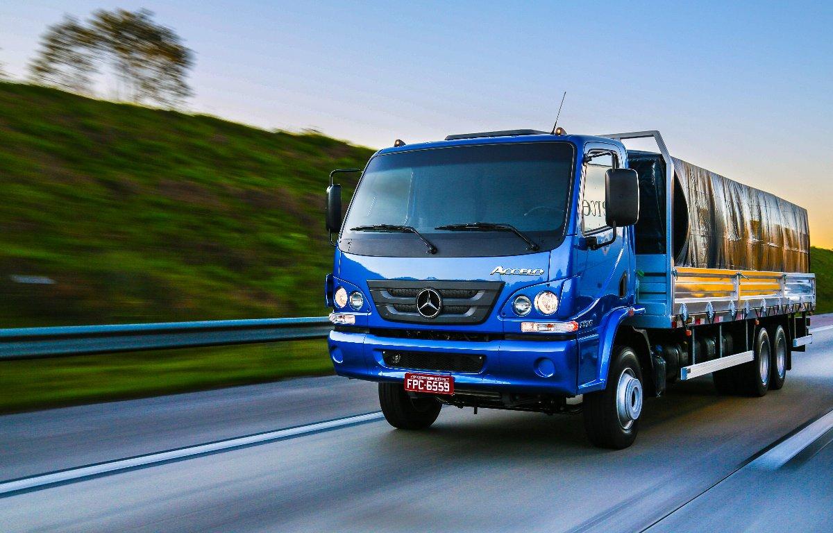 Imagem ilustrativa da notícia: Vendas de caminhões recuam mais de 5% no trimestre