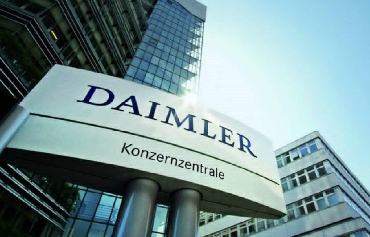 Imagem ilustrativa da notícia: Vendas do Grupo Daimler recuam no segundo trimestre