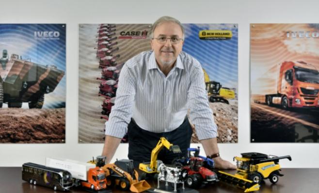 Imagem ilustrativa da notícia: CNH Industrial confia no Brasil e na região
