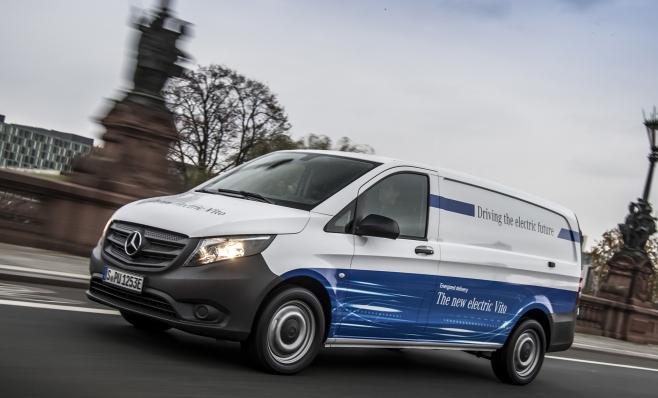 Imagem ilustrativa da notícia: Mercedes-Benz já tem o Vito elétrico na Europa