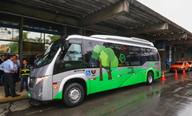 Imagem ilustrativa da notícia: Ônibus elétrico da Volare será testado em Curitiba