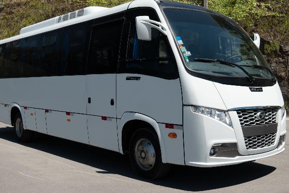 Imagem ilustrativa da notícia: Miniônibus Volare chegam ao Catar
