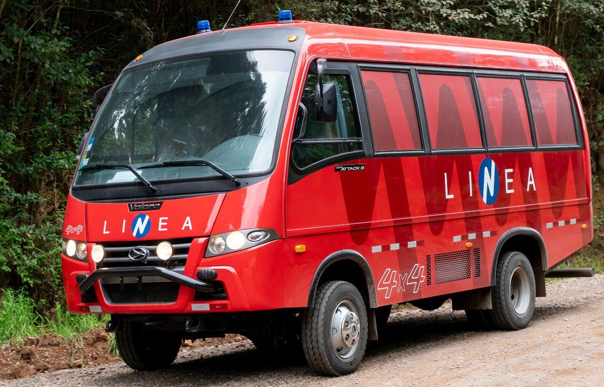 Imagem ilustrativa da notícia: Volare exporta dez miniônibus para o Peru