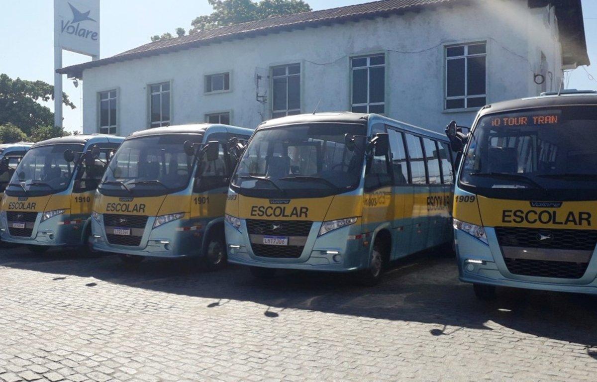 Imagem ilustrativa da notícia: Volare vende dezesseis micro-ônibus no RJ