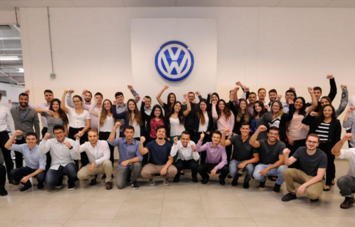 Imagem ilustrativa da notícia: Volkswagen buscará estagiários em agosto