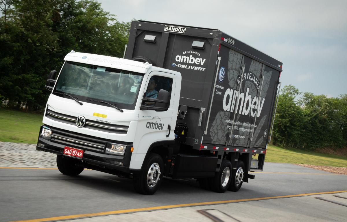 Imagem ilustrativa da notícia: VWCO confirma venda de 100 e-Delivery para a Ambev