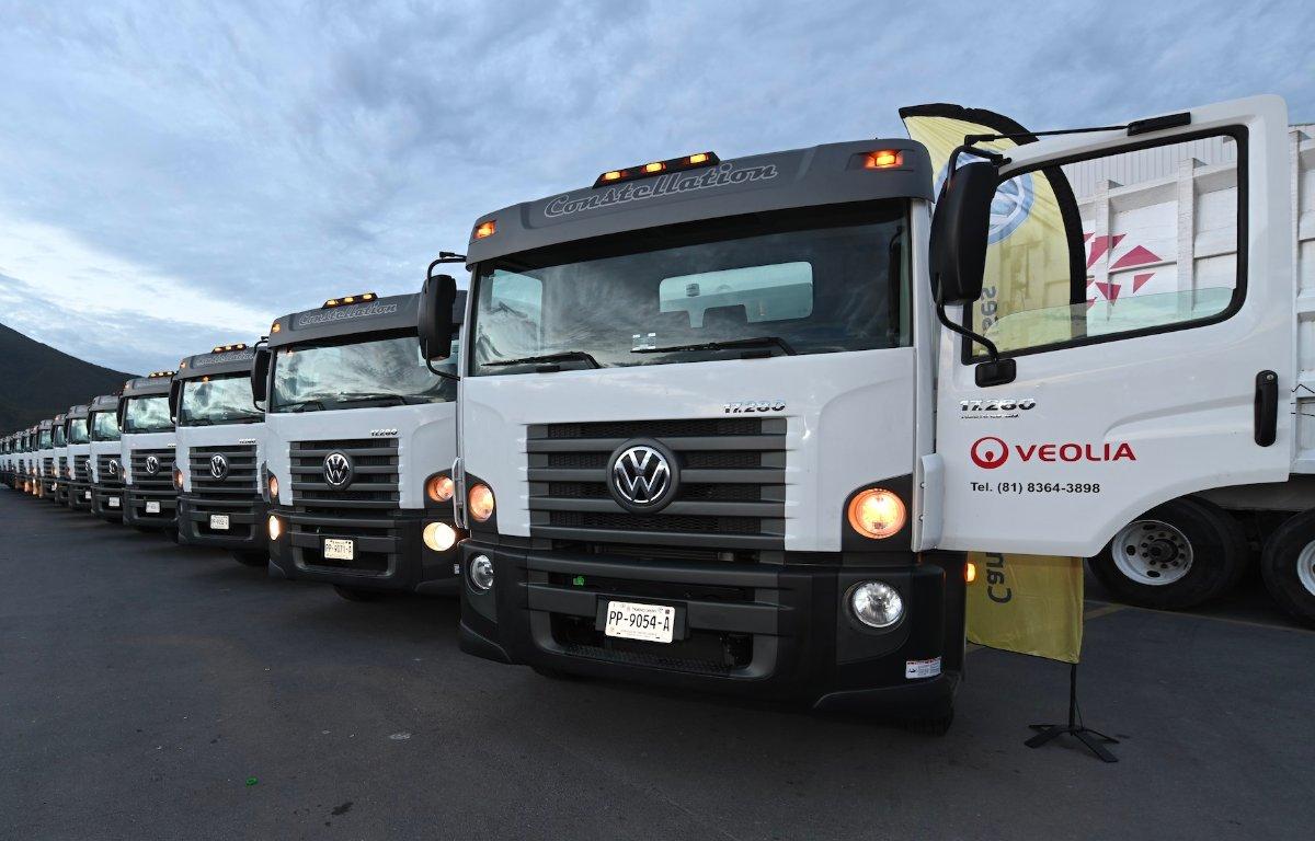 Imagem ilustrativa da notícia: Volkswagen Caminhões vende 32 unidades à Veolia