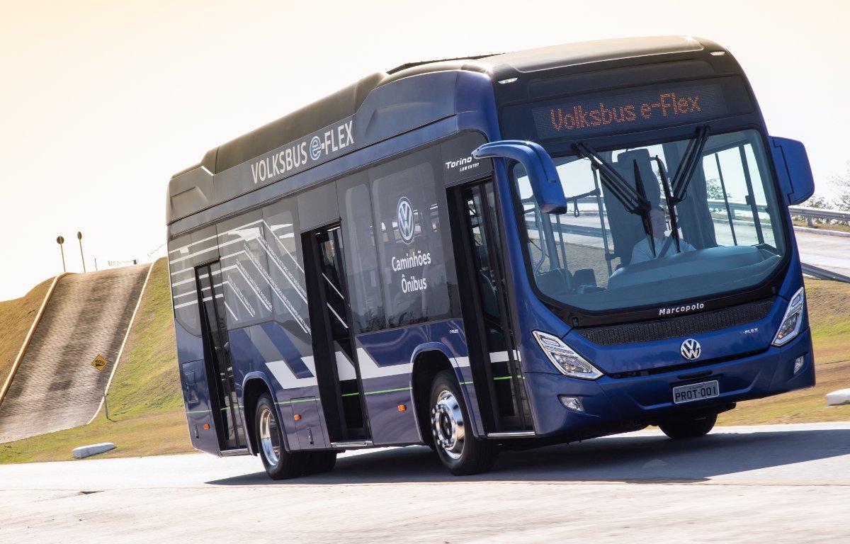 Imagem ilustrativa da notícia: Volksbus e-Flex deverá entrar nas linhas do e-Consórcio
