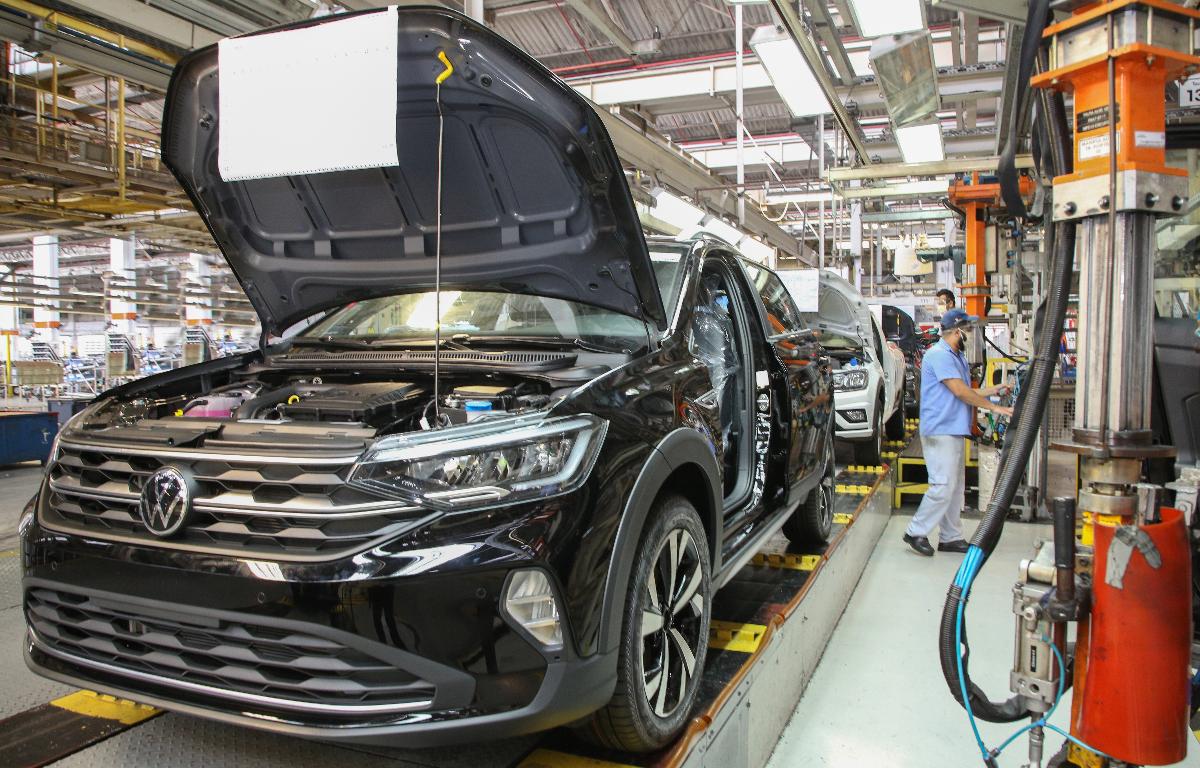 Imagem ilustrativa da notícia: Volkswagen começa a produzir o Nivus na Anchieta