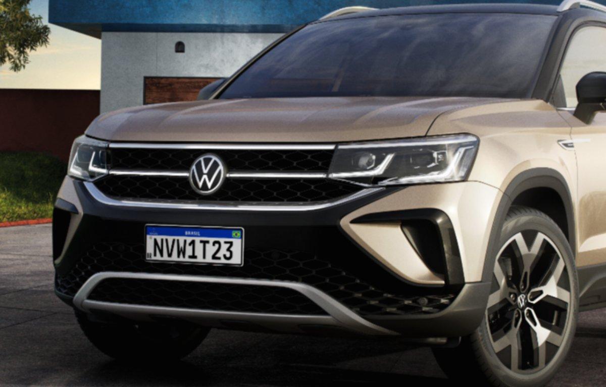 Imagem ilustrativa da notícia: Volkswagen mostra a cara do Taos