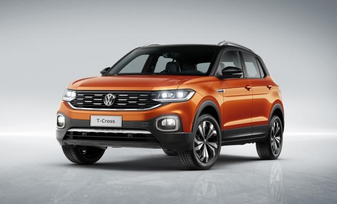 Imagem ilustrativa da notícia: Volkswagen apresenta o T-Cross