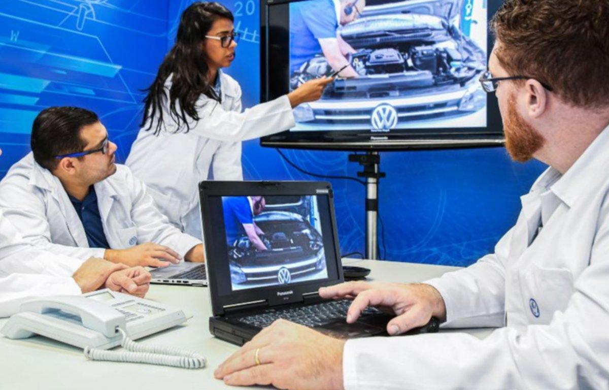 Imagem ilustrativa da notícia: Volkswagen testará serviço de reparo remoto na rede