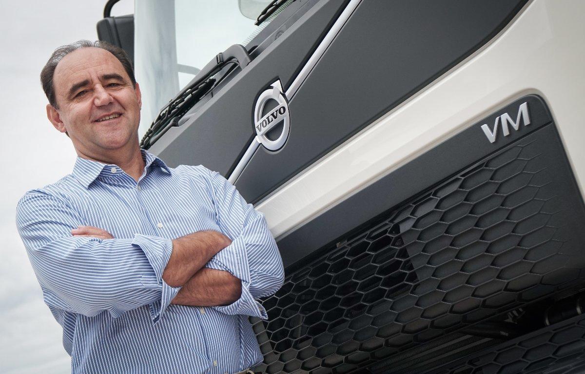 Imagem ilustrativa da notícia: Clóvis Lopes é o novo gerente comercial de caminhões Volvo