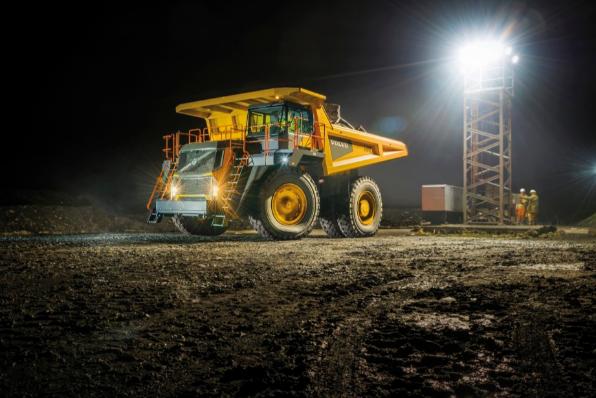 Imagem ilustrativa da notícia: Volvo CE venderá seu maior caminhão no País em 2019