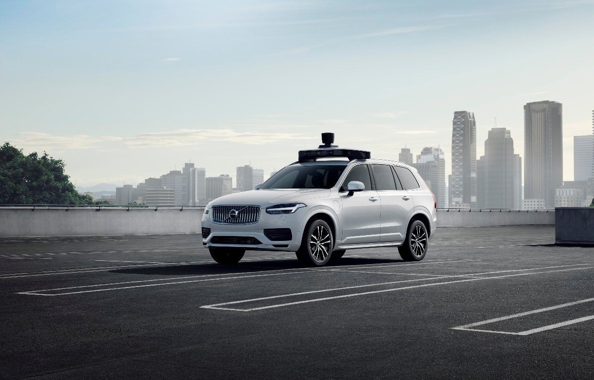 Imagem ilustrativa da notícia: Volvo e Uber desenvolvem carro autônomo de produção em série