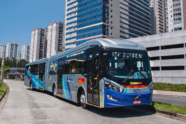 Imagem ilustrativa da notícia: Volvo entrega biarticulados para Metra