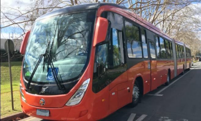 Imagem ilustrativa da notícia: Curitiba terá novos 25 biarticulados da Volvo