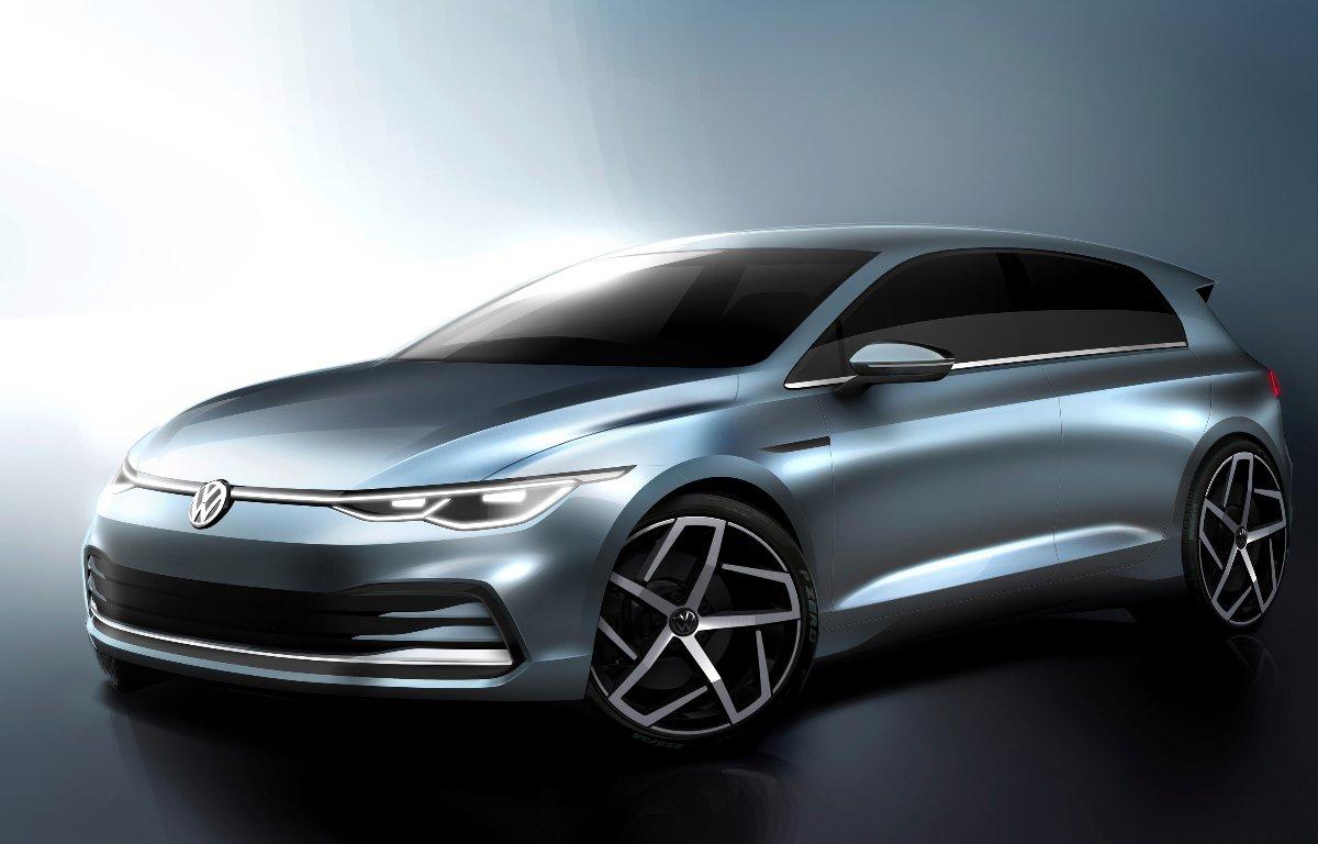 Imagem ilustrativa da notícia: Volkswagen começa a divulgar o novo Golf
