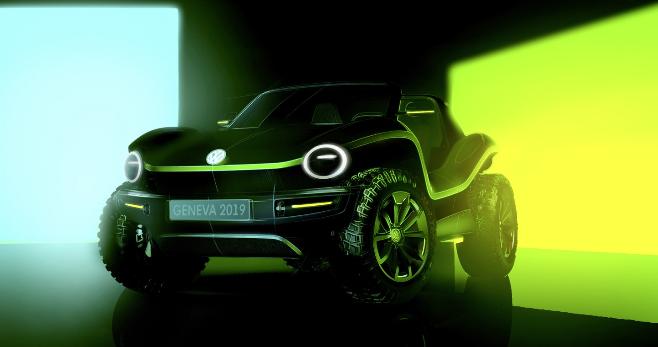 Imagem ilustrativa da notícia: VW mostra conceito de buggy elétrico