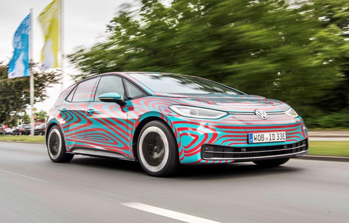 Imagem ilustrativa da notícia: VW mostrará elétrico ID.3 em Frankfurt