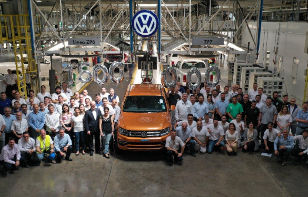 Imagem ilustrativa da notícia: VW registra produção de 1,5 milhão de unidades na Argentina