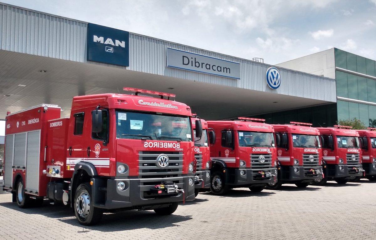 Imagem ilustrativa da notícia: VWCO vende doze caminhões aos Bombeiros de São Paulo