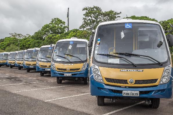 Imagem ilustrativa da notícia: VWCO já entregou noventa micro-ônibus para o governo