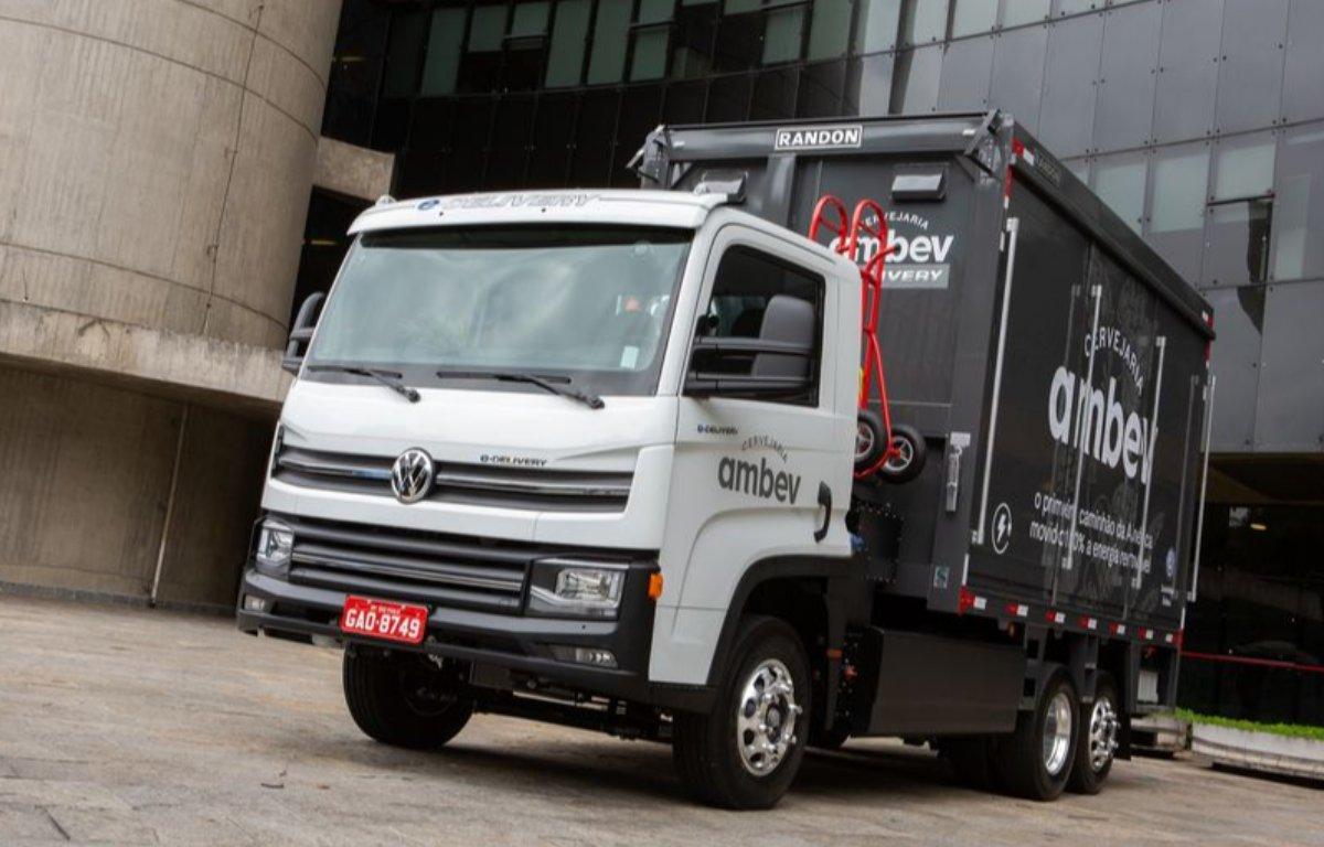 Imagem ilustrativa da notícia: Volkswagen Caminhões mira a exportação do e-Delivery