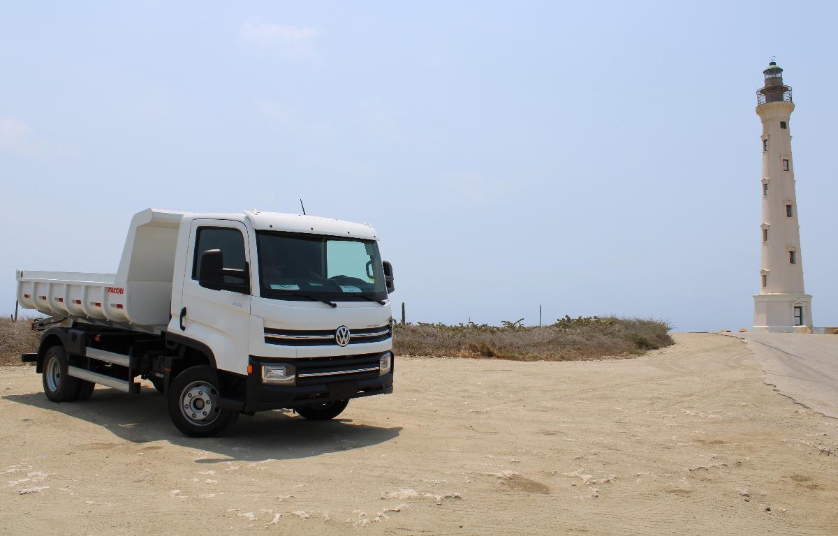 Imagem ilustrativa da notícia: VWCO exporta seu primeiro caminhão para Aruba