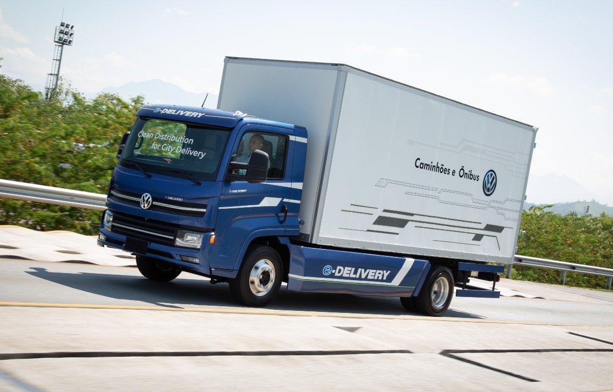 Imagem ilustrativa da notícia: Volkswagen Caminhões mostra a arte-final do e-Delivery