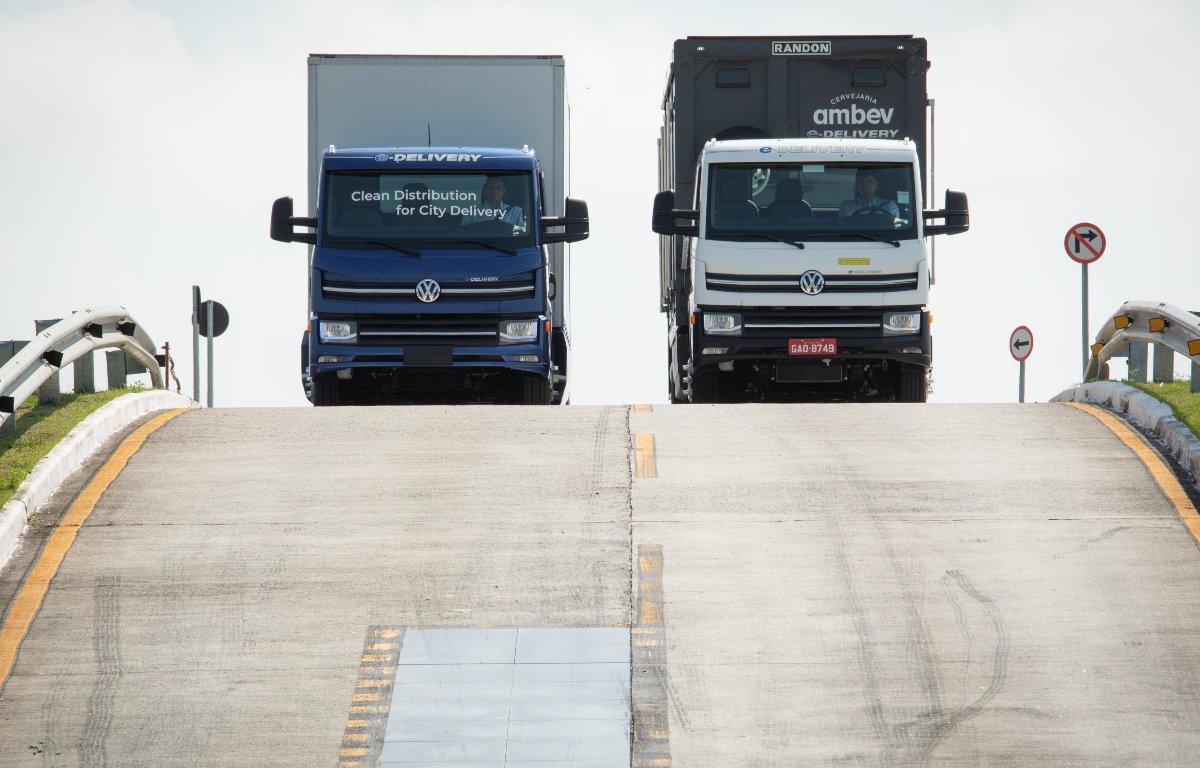 Imagem ilustrativa da notícia: Volkswagen Caminhões investe em Resende para produzir o e-Delivery