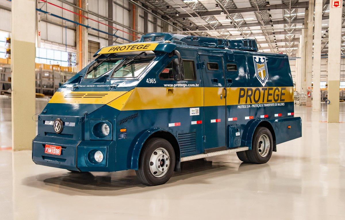 Imagem ilustrativa da notícia: VWCO vende 140 chassis para carro forte da Protege.