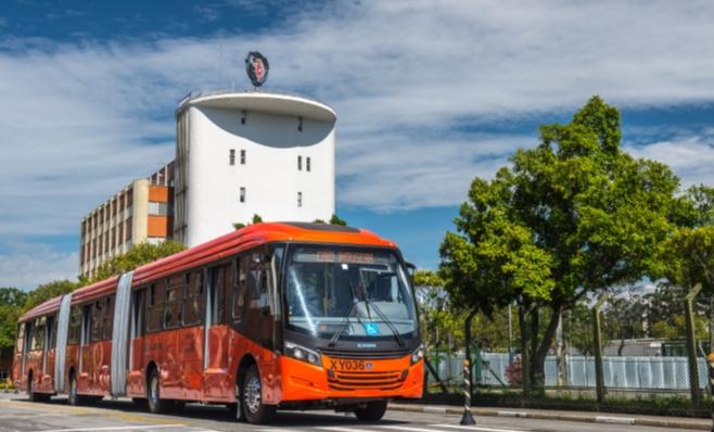 Imagem ilustrativa da notícia: Scania entra no mercado brasileiro de biarticulados