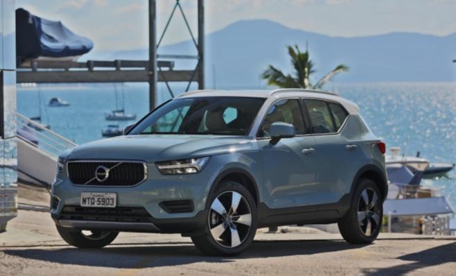 Imagem ilustrativa da notícia: XC40 chega ao mercado para ser o Volvo mais vendido