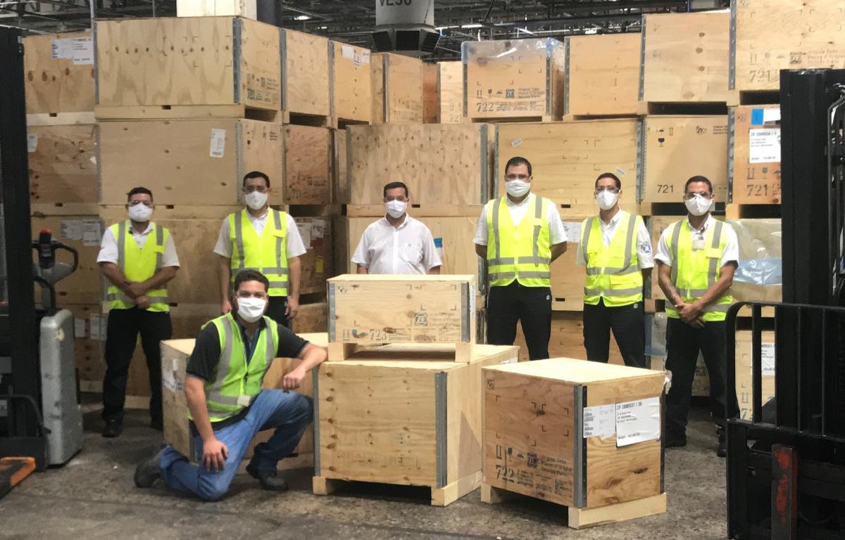 Imagem ilustrativa da notícia: ZF reutiliza embalagens de madeira e papelão