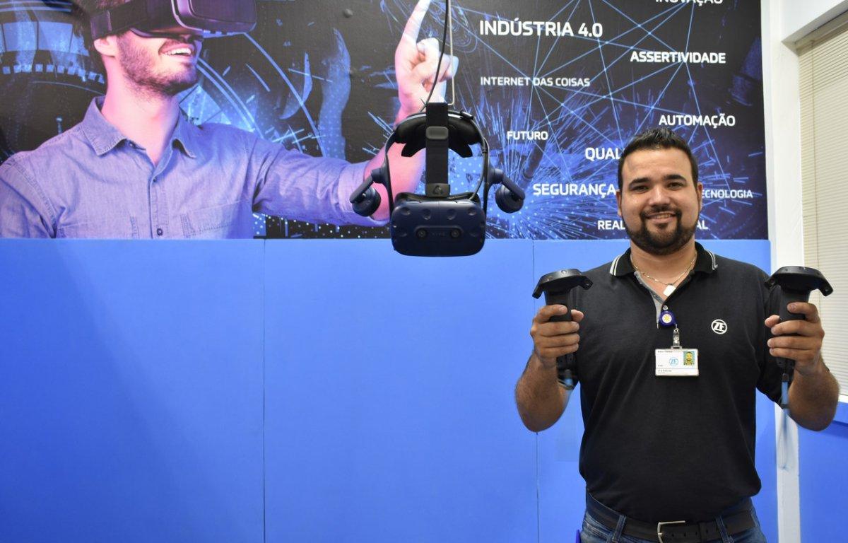 Imagem ilustrativa da notícia: ZF usa realidade virtual para treinar funcionários